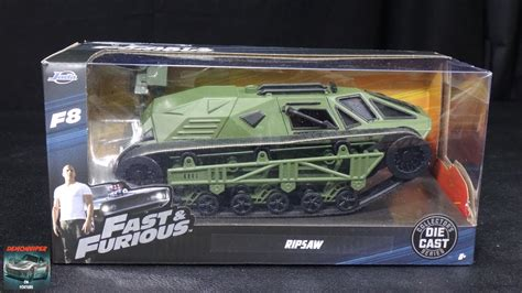 Fast Furious 8 Ripsaw 1 24 Scale Diecast Opening Features By fast furious 8 tej s ripsaw toys 1 24 model unboxing
