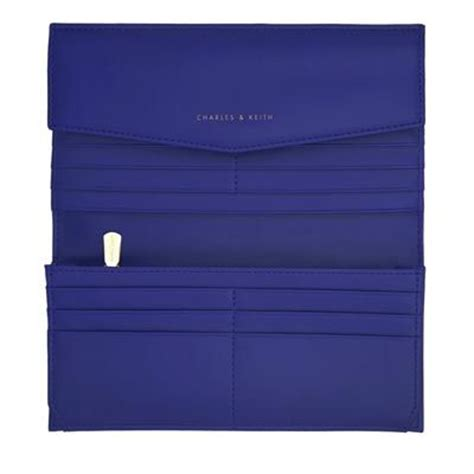 Charles Keith Wallet Blue 070995 4 classic blue wallet charles and keith bags purse