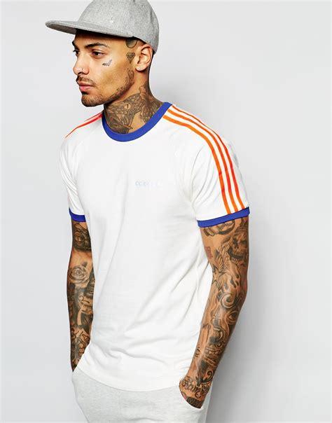 adidas originals california t shirt ab7773 in white for