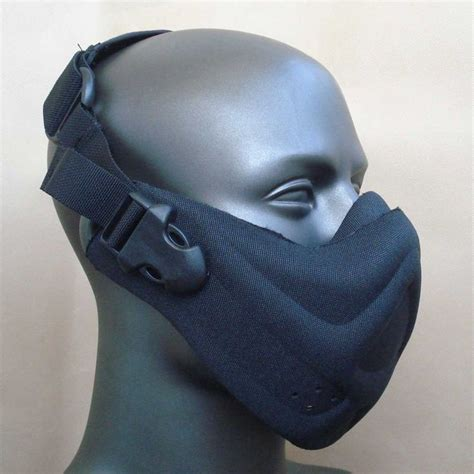 G Mask airsoft neoprene foam half mask black helmet masks black and airsoft