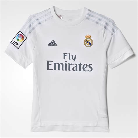 Jersey Murah Prematch Real Madrid White 2016 adidas jersey local real madrid 2015 2016 ni 241 os blanco adidas mexico