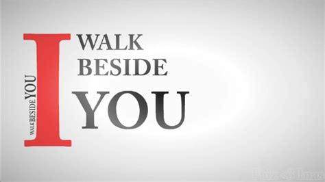 how to your to walk beside you theater i walk beside you lyrics animation