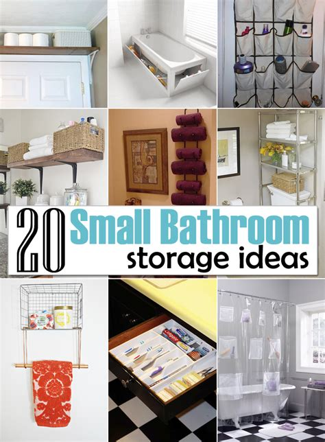20 diy bathroom storage ideas for small spaces creative diy storage ideas for small spaces and apartments