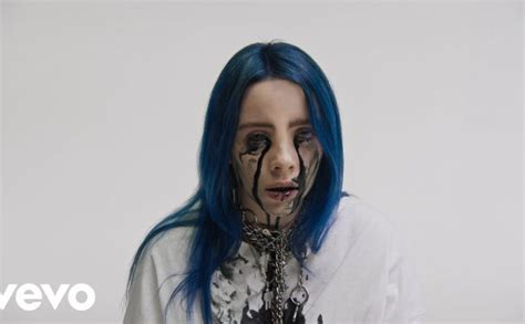 billie eilish font billie eilish releases video for the stunning when the