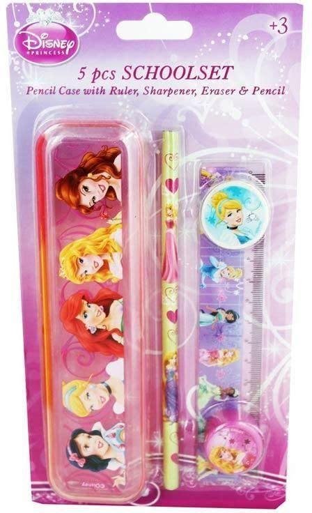 Disney Princess Stationerry Set disney princess stationery set 5pcs 3 price from