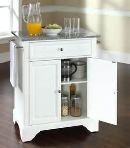 portable kitchen islands buy lafayette solid granite top portable kitchen island w