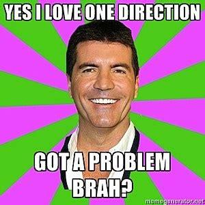 Simon Cowell Meme - simon cowell funniest one direction memes