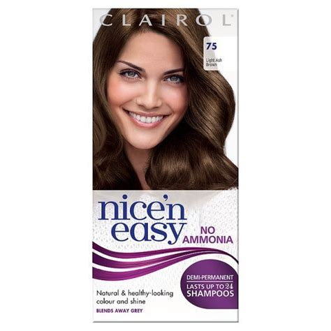 buy clairol nice n easy non permanent hair colour 8 clairol nice n easy no ammonia semi permanent hair dye
