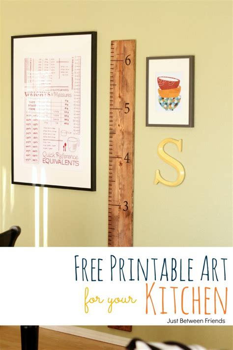 Free Printable Kitchen Wall Art | kitchen wall art and free printable bakerette