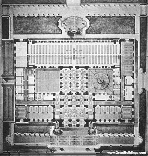 new york public library floor plan ground floor plan of the new york public library new
