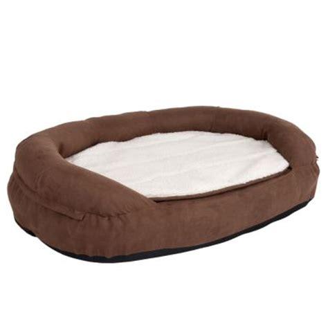 letto memory letto memory ovale marrone per cani zooplus