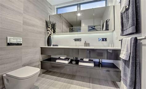 arredamento moderno bagno 20 idee di arredamento bagno in grigio mondodesign it