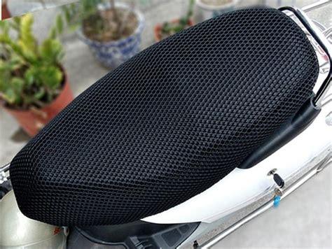 anti slip motorcycle seat cover durable mesh motorcycle motorbike scooter seat covers