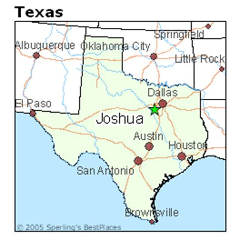 joshua texas map best places to live in joshua texas