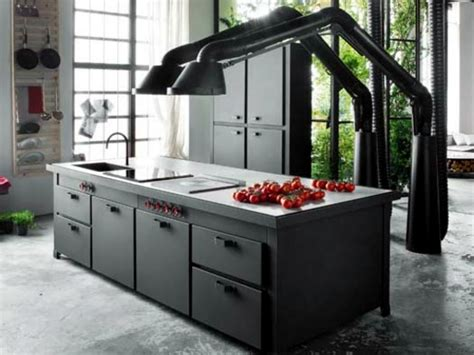 Fitted Kitchen Design modern fitted kitchen with cooking island brings home
