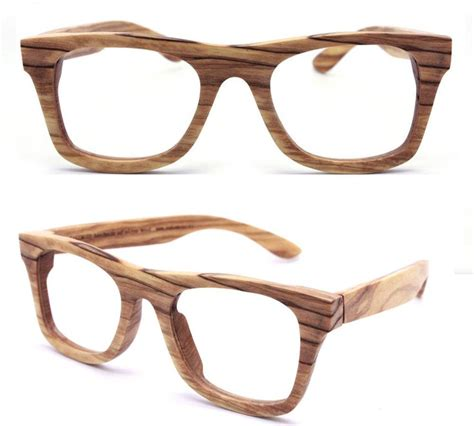 wooden glasses style