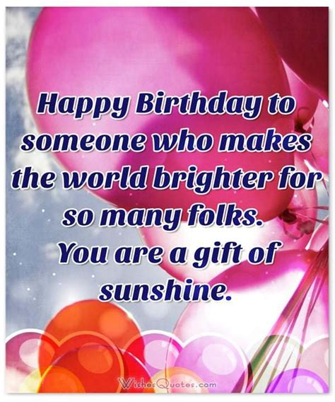 Happy Birthday Quotes For Someone Special 43 Famous Someone Special Birthday Wishes Greetings With