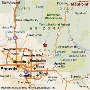 c verde arizona map pin arizona map on
