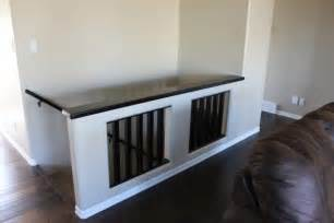 interesting half wall replace trap railing for