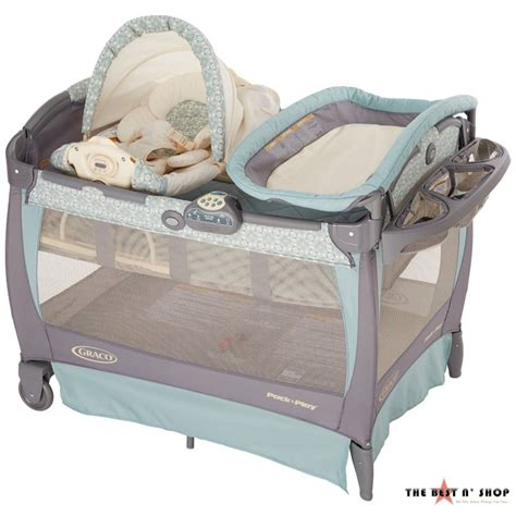 Playard Crib by Baby Crib Playard Bassinet Removable Rocking Seat Cuddle