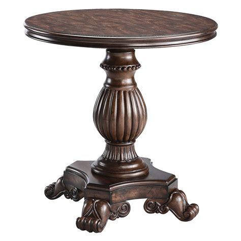 round pedestal accent table master sti569 jpg