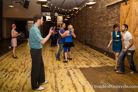 knoxville swing dance k town swing inside of knoxville