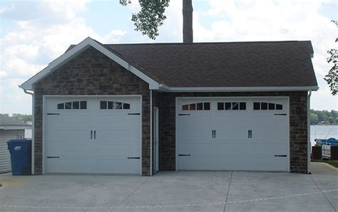 Columbia City Garage Sales by Crooked Lake Custom Home Designs