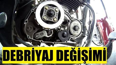motosiklet debriyaj balatasi degisimi nasil oluyor