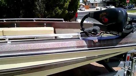 ranger bass boat without motor 1980 ranger 1780v youtube