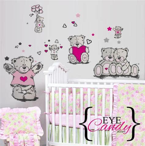 tatty teddy wall stickers other baby tatty teddy baby wall stickers