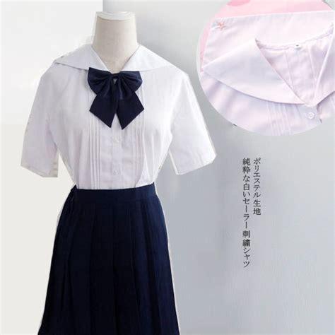 Pleats Blouse Murah merah muda pelaut seragam beli murah merah muda pelaut