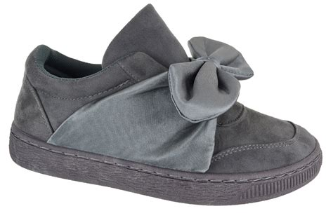 Bow Sneakers For 3 new womens suede flat designer bow sneaker