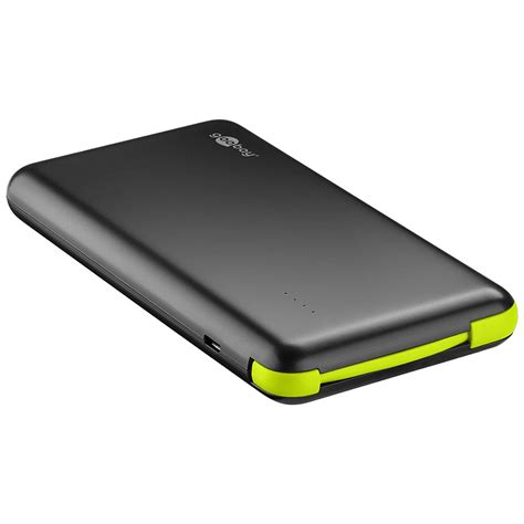 Power Bank Slim goobay slim 8000mah power bank black