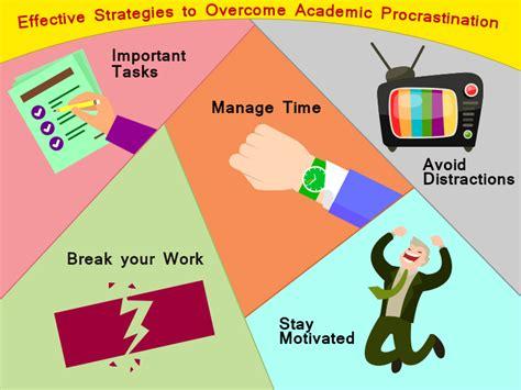 Effective Stategi effective strategies to overcome academic procrastination