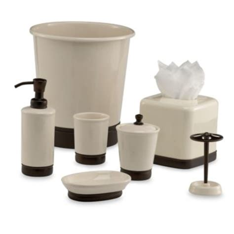 Bathroom Accessories Bronze Buy Rubbed Bronze Bathroom Accessories From Bed Bath Beyond