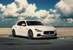Maserati Ghibli Custom Maserati Ghibli Loma Wheels