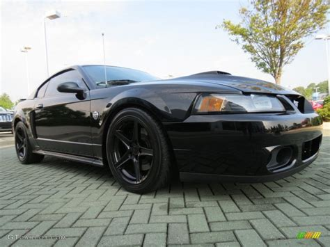 2004 ford mustang black black 2004 ford mustang mach 1 coupe exterior photo