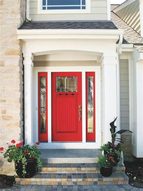 front entry 27 cool front door designs with sidelights shelterness