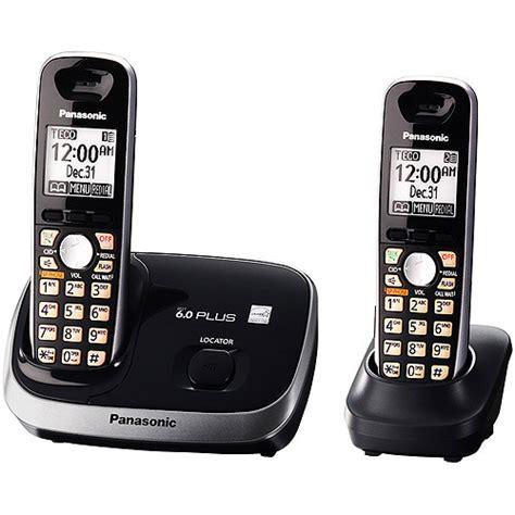 Walmart Home Phones by Panasonic Kx Tg6512b Dect 6 0 Plus Phone Eco Mode Dig Ans