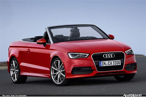 The New Audi A3 by Sporty And Open The New Audi A3 Cabriolet