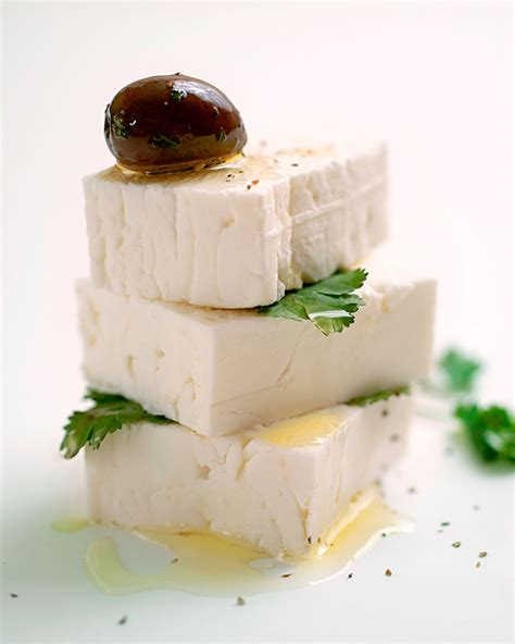 feta cheese details