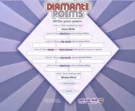 Diamante Poem Template by Diamante Poem Template Wordscrawl