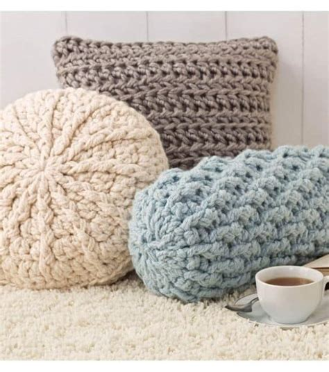 Crochet Pillow by Free Crochet Patterns Top Pins The Whoot