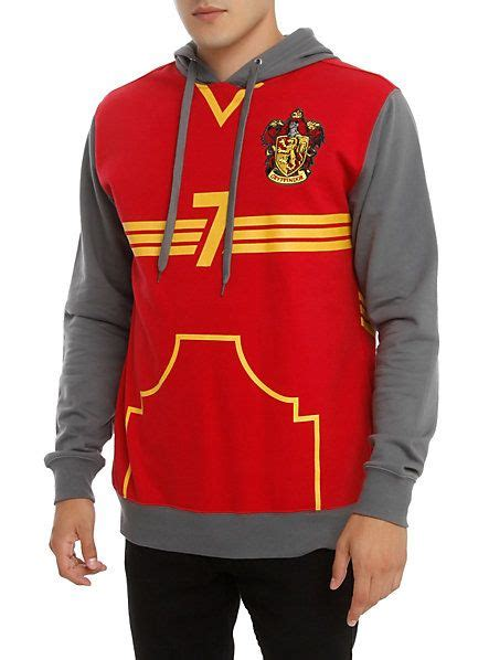 Hoodie Pullover 93 Pcs harry potter gryffindor quidditch pullover hoodie topic harry potter quidditch