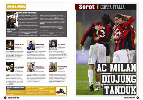 layout majalah game sports magazine design layout on behance
