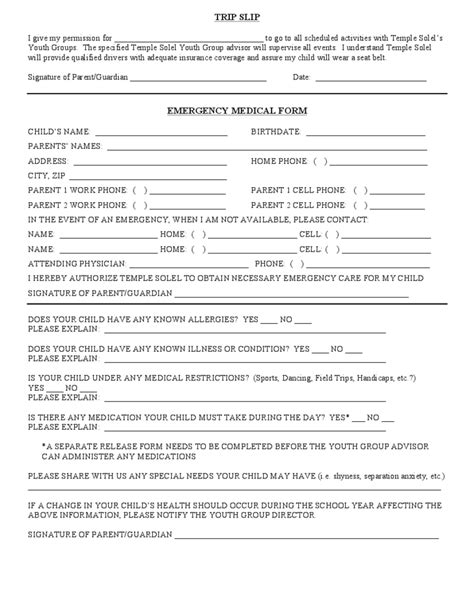 youth registration form template youth church registration form template pictures to pin on