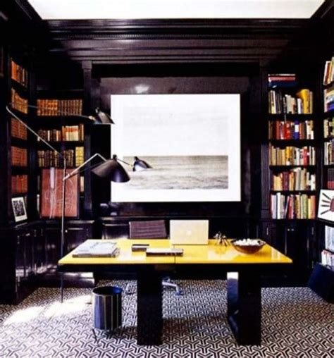 elle decor home office 50 dramatic masculine home office designs comfydwelling com