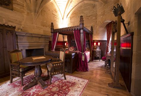 Castle Tower Bedroom tower suites at warwick castle
