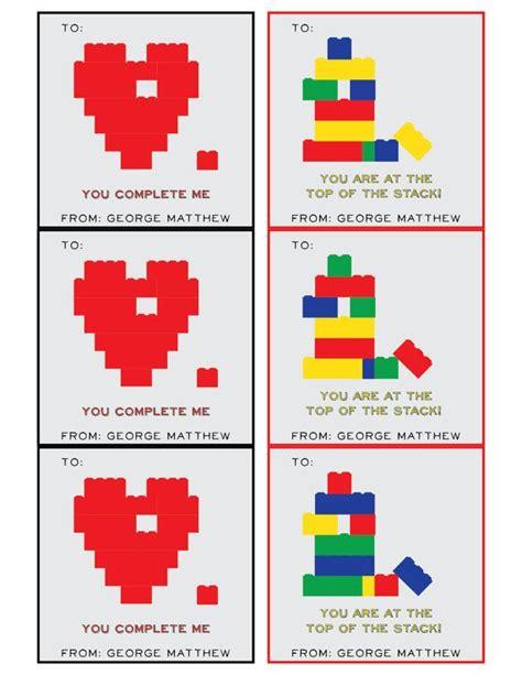 printable lego card printable children s valentine s day cards lego building