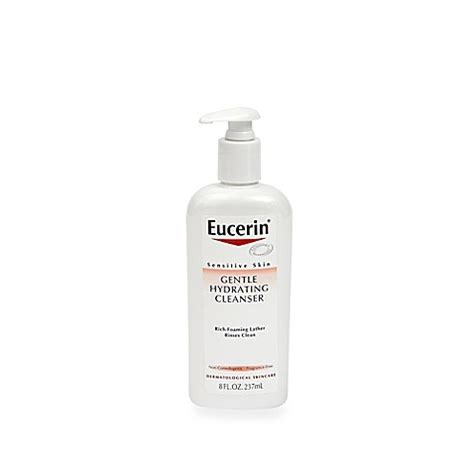 Ristra Hydrating Cleanser Freshener For Sensitive Skin eucerin 8 oz sensitive skin gentle hydrating cleanser bed bath beyond